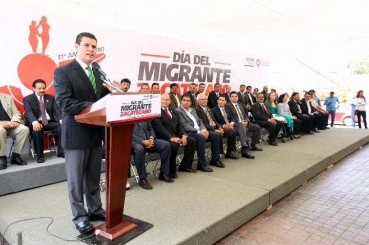 Anuncia Miguel Alonso iniciativa para creación de la Secretaría del Migrante