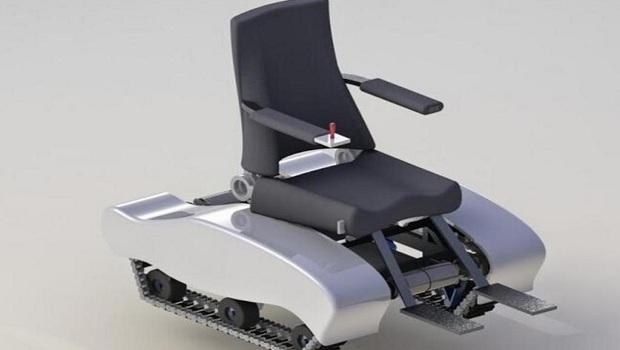 Pm periometro desarrollan mexicanos silla de ruedas for Sillas para subir y bajar escaleras