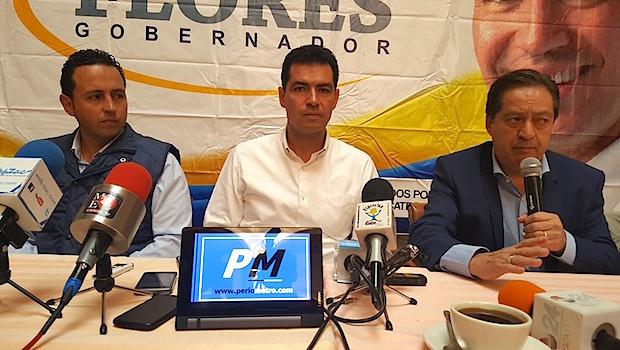 Diputados Federales del PAN dan espaldarazo a Rafael Flores [video]