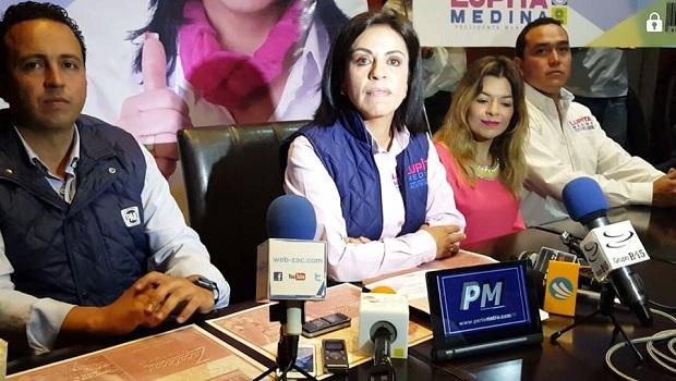 Guadalupe Medina acusa a los Monreal de narcotráfico pero no presentará denuncia; borró video de su página [videos]