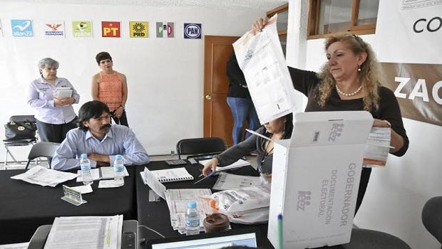 98% ciento de avance en cómputos municipales, falta Zacatecas