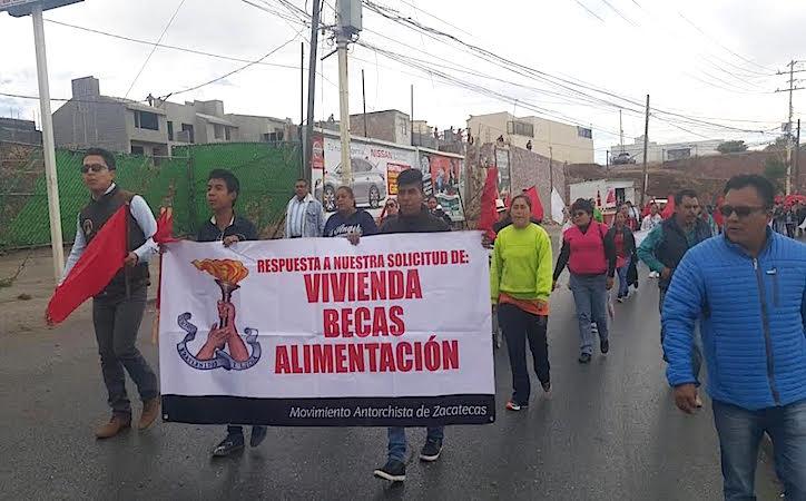 Antorcha califica de mentiroso al Ayuntamiento capitalino tras asegurar el gobierno municipal que se lograron acuerdos
