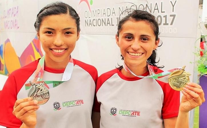 Oro y Plata para Zacatecas en atletismo juvenil NL2017