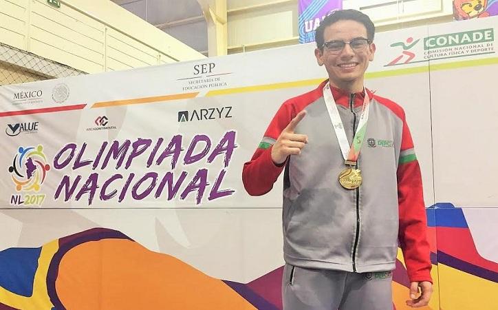 Espada de oro para Edgar Elier Pacheco Martínez