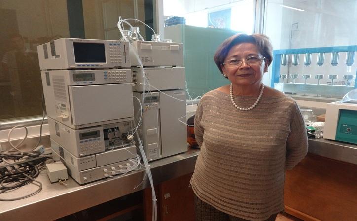 Victoria Concha: pionera en cromatografía en Zacatecas
