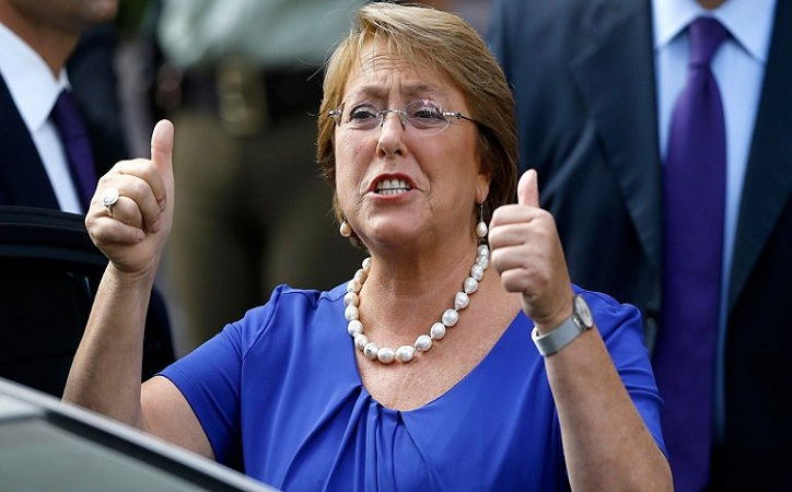 Bachelet celebra la aprobación del Constitucional a ley de aborto en Chile