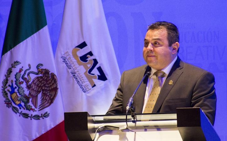 UAZ, ahogada en crisis: Antonio Guzmán durante su informe