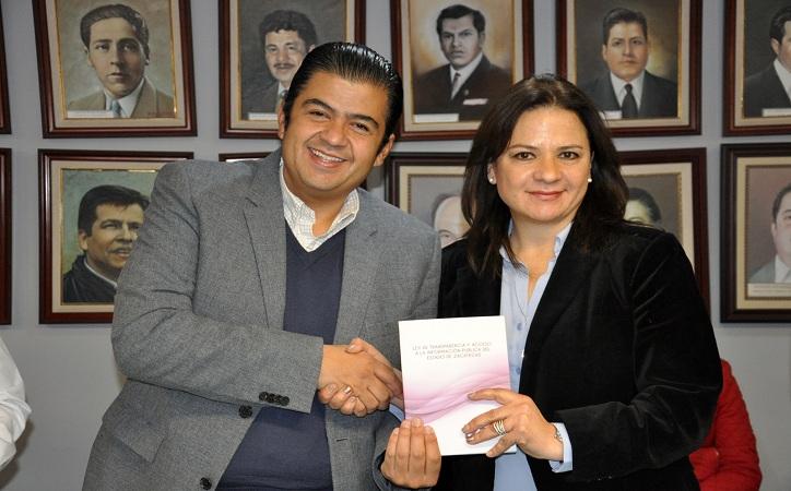 Presume PRI ser el partido más transparente de Zacatecas