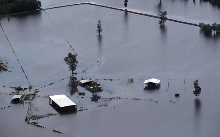 Arrasa huracán Irma las islas de San Bartolomé y San Martín