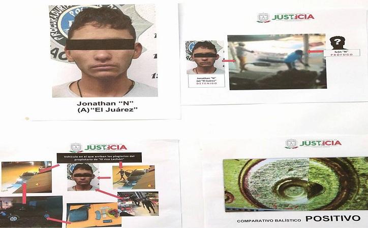 Detienen a presunto asesino de comerciante carnicero; también es responsable de secuestro