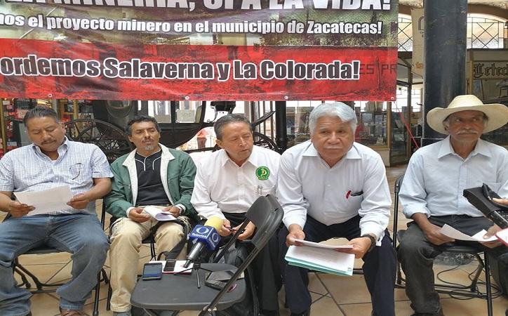 Se opone FSSP a que minera canadiense explote suelo de la capital zacatecana