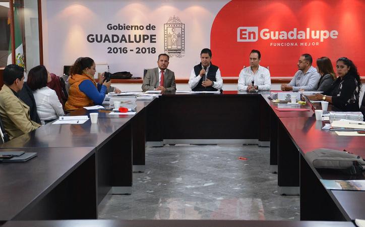 Ayuntamiento de Guadalupe, comprometido con la eficiencia administrativa
