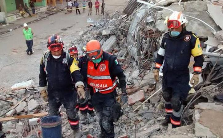 PC de Zacatecas apoyará labores de rescate en CdMx