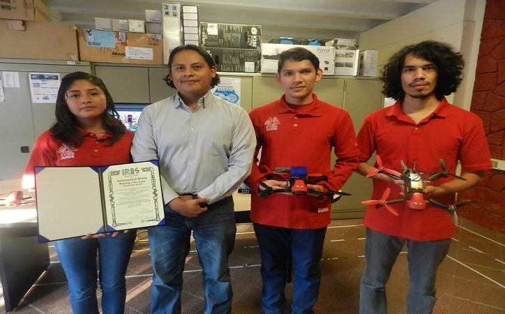 Gana México competencia mundial de drones
