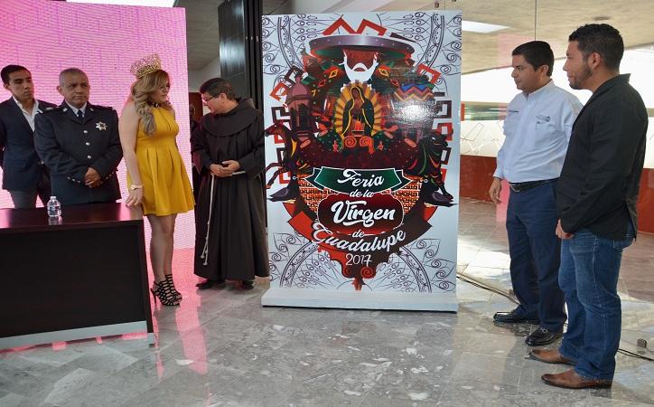 Presentan programa general de la Feria de la Virgen en su edición 2017