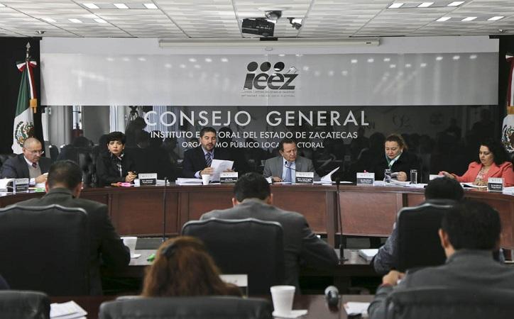 Aprueba IEEZ criterios para la reelección y convocatorias para la elección de diputados y ayuntamientos