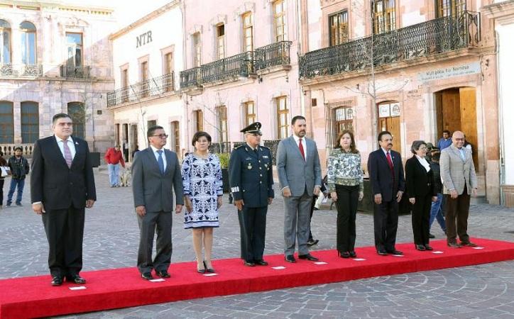 Gobernador llama a conmemorar con consciencia histórica el 107 aniversario de la Revolución Mexicana