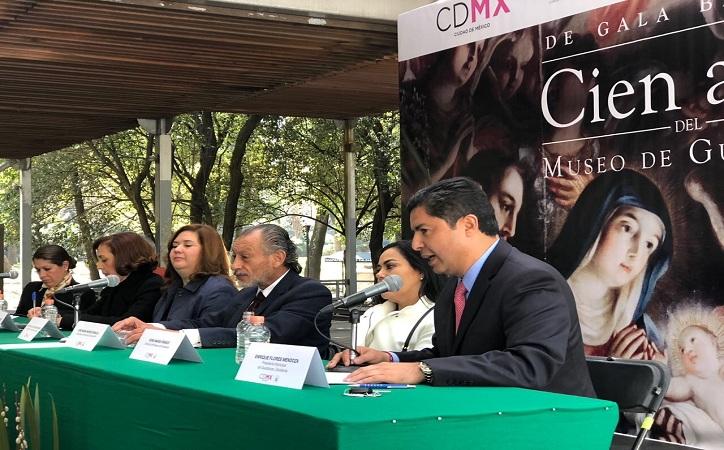Llegan a Ciudad de México festejos por el centenario del Museo de Guadalupe