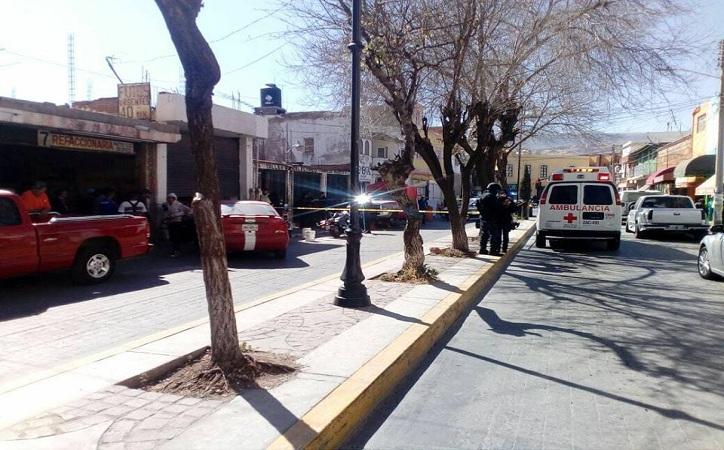 Matan a hombre dentro de taller mecánico en Guadalupe