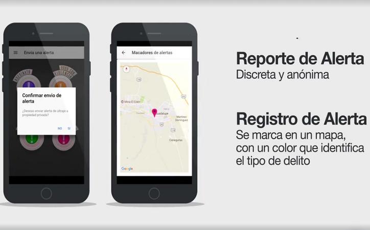 """Lanza Cuauhtémoc Calderón aplicación móvil """"Alerta Ciudadana"""", quiere informar sobre actos delictivos"""