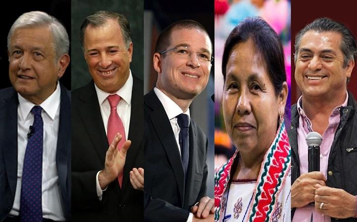 """Presidenciables en Zacatecas; """"veni, vidi y … me fui"""""""