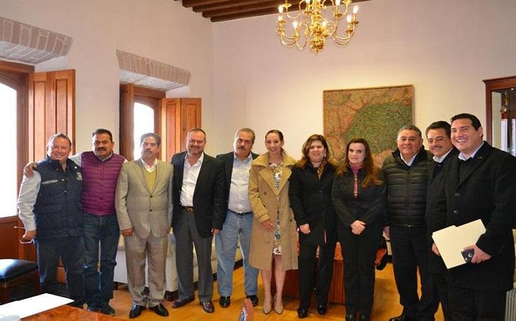 Secretaria de Gobierno otorga certidumbre a dirigentes de partidos para llevar proceso electoral con tranquilidad; ausente Morena