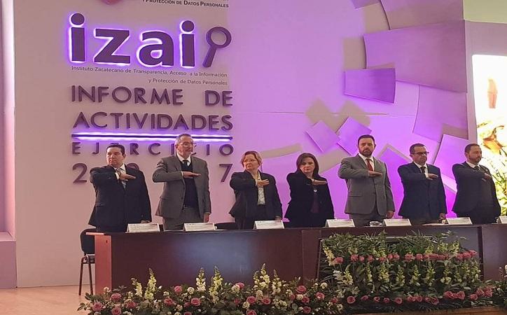 La transparencia no es una concesión, es una obligación constitucional: Del Río Venegas rinde informe