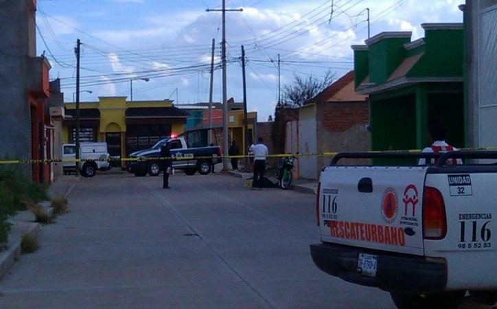 Asesinan a tiros a trabajador de La Corona en Calera
