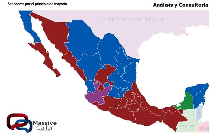 Según encuesta, Morena sería primera fuerza en Senado y ganaría dos posiciones en Zacatecas, PRI – Verde sin representación