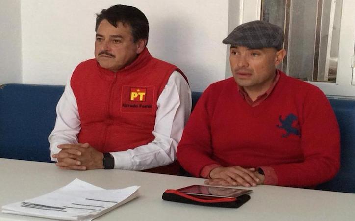 Se reúne Alfredo Femat con militancia petista en Fresnillo,Calera y Enrique Estrada evalúa avance de campaña permanente de afiliación.