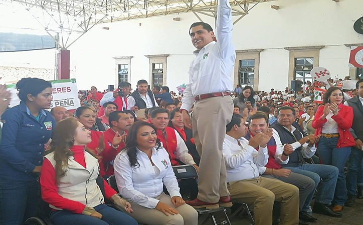 Ratifica PRI candidaturas de Anaya al Senado; Peña, Luévano y Castorena a Diputaciones Federales