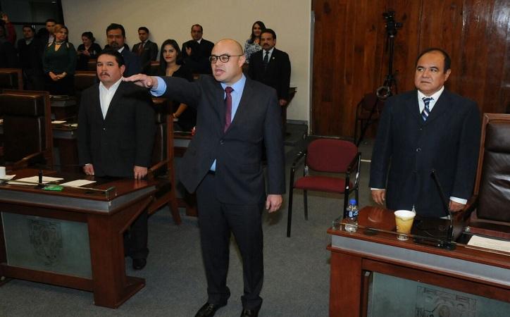 Por unanimidad, Congreso elige a Francisco Murillo como Fiscal General del Estado