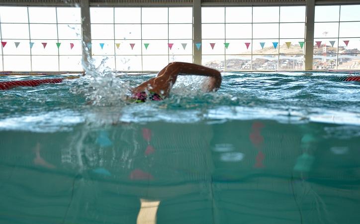 En Guadalupe nadan con el corazón por una buena causa