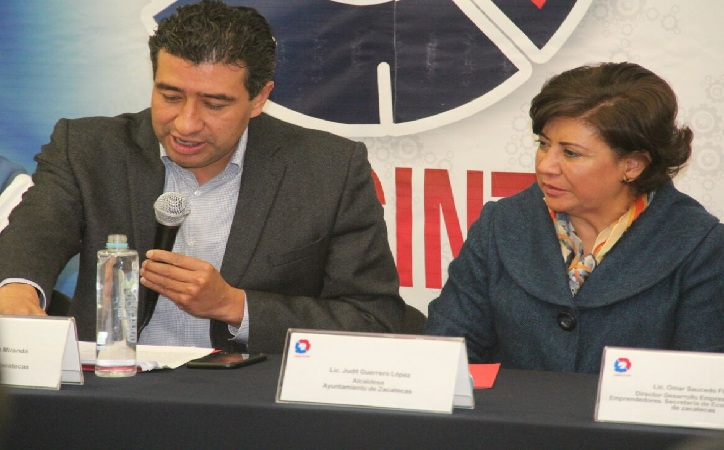 Reitera Judit Guerrero apoyo a emprendedores y ofrece espacios públicos para que  interactúen en ellos
