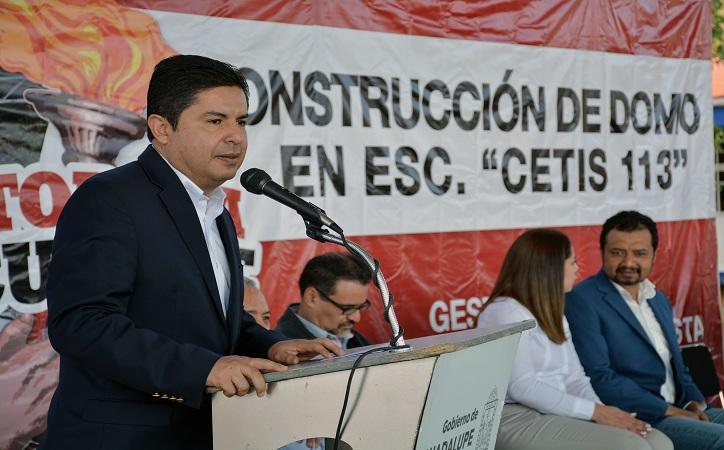 Cetis 113 se integra al programa en Guadalupe Tu Escuela Funciona Mejor