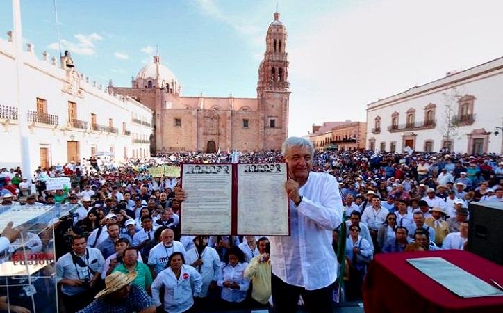 51.9% de los zacatecanos votaría por AMLO: Encuesta
