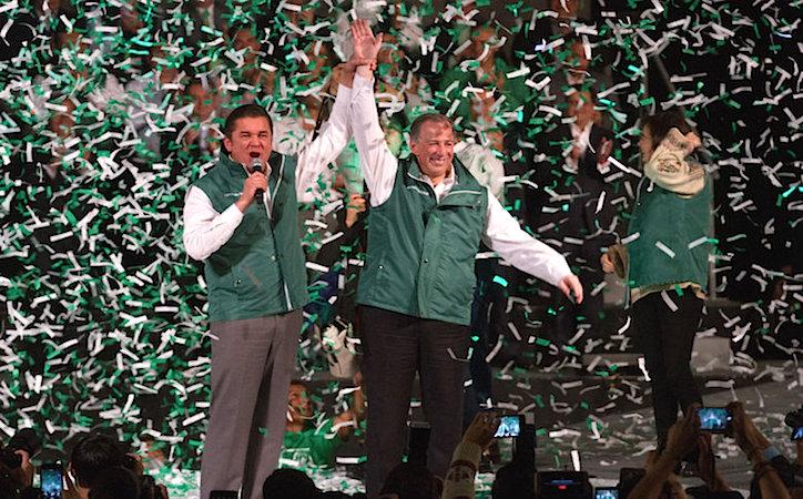 Partido Verde advierte de una ruptura nacional con PRI y Nueva Alianza