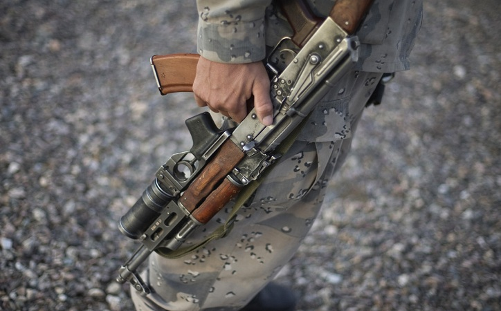 213 mil armas de fuego entran a México desde EU