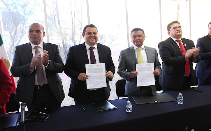 Firman convenio UAZ y Tribunal de Justicia para coadyuvar en actualización de jueces y magistrados