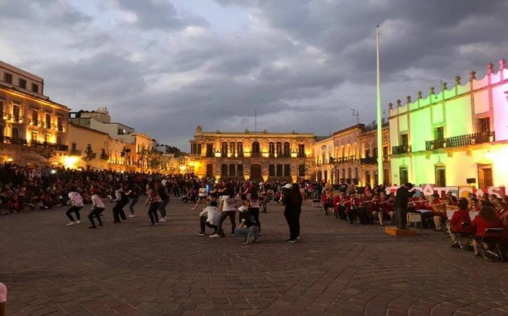 Realiza Godezac flashmob como parte de la Conmemoración del Día Internacional de la Mujer