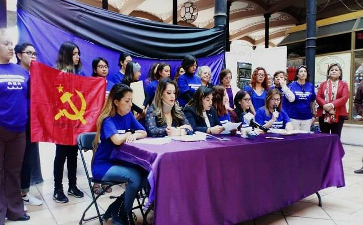 Féminas zacatecanas se unen al Paro Internacional de Mujeres para el 8 de marzo, se deslindan de partidos