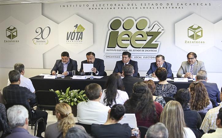 9 millones 581 mil boletas se destinarán a las casillas para las elecciones en Zacatecas