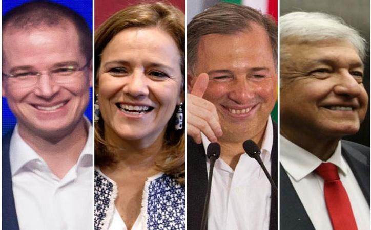 La riqueza de los candidatos a la Presidencia; Anaya el más acaudalado