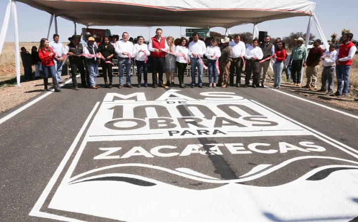 """Anuncia Tello """"Más de Mil Obras para Zacatecas"""", el programa de infraestructura más ambicioso de su administración"""