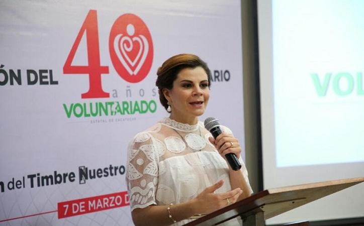 Celebra Voluntariado Estatal Zacatecas su 40 aniversario