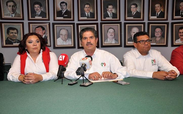 Registró el PRI a candidatos para los 58 municipios y 18 distritos