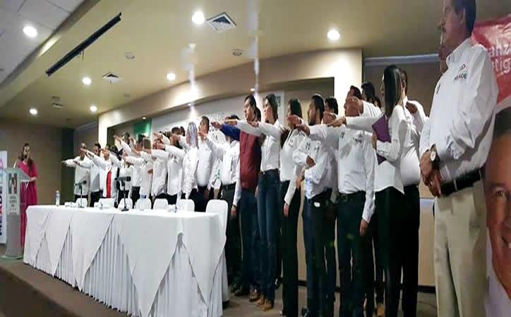 Toma protesta equipo de campaña en Zacatecas de Meade; exsecretario de Gobierno de MAR lo integra