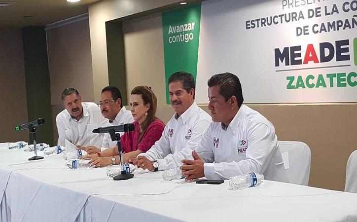 Carolina Viggiano regaña al PRI Zacatecas, suenan las sirenas
