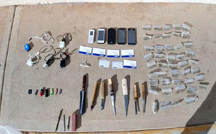 Nuevamente encuentran droga y teléfonos celulares en cárcel de Cieneguillas