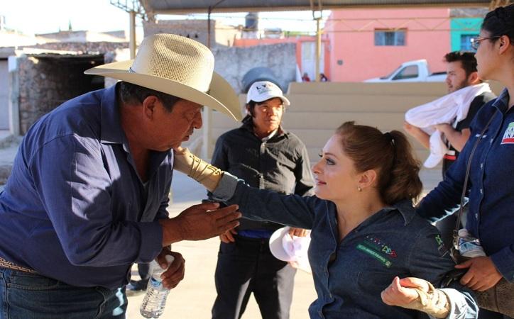 Campañas de propuesta, no de encono; exhorta Claudia Anaya a contendientes